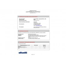 Toner Olivetti nero  B0812
