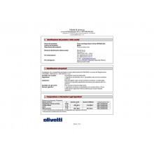 Toner Olivetti nero  B0891