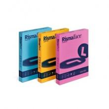 Carta colorata Favini Rismaluce colori forti 200 g/m² azzurro 55 125 fogli - A67G104