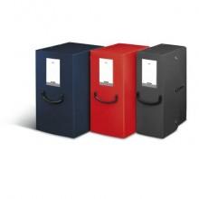 Scatola portaprogetti LEONARDI Pick Up 25x35 cm - dorso 16 cm Trilex® blu navy 40272