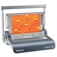Rilegatrice a dorsi plastici FELLOWES Quasar+ 500 capacità di perforazione 25 fogli - 5627701