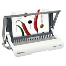 Rilegatrice a dorsi plastici FELLOWES Star+ 150 capacità di perforazione 15 fogli - 5627501