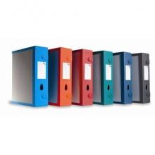 Scatola archivio LEONARDI Combi Box E500 dorso 9 cm rosso bordeaux E500RB