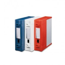 Scatola archivio LEONARDI Combi Box E600 29,8x36,2 cm - dorso 9 cm bianco E600BI