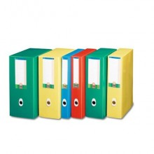 Scatola portaprogetti LEONARDI Plus PPL 25,5x35,5 cm - dorso 8 cm azzurro U208AZ (Conf.5)