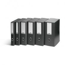 Scatola portaprogetti LEONARDI Plus VIP 25,5x35,5 cm PPL antracite dorso 10 cm 1007301