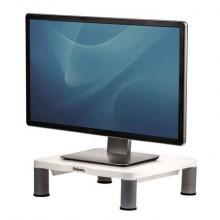 Supporto FELLOWES per monitor standard plastica riciclata grigio 10x33x34 cm 91712