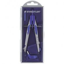Compasso scolastico a frizione Staedtler Mars 553 argento/blu 553 01