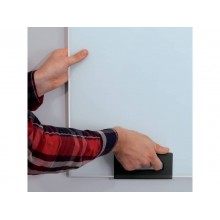 Lavagna magnetica in vetro Artverum SIGEL 1200x900x15 mm bianco - RGL211