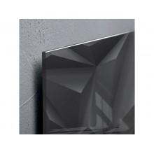 Lavagna magnetica in vetro Artverum SIGEL 910x460x15 mm Black Diamond RGL261