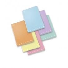 Quaderno 42 fogli PIGNA Monocromo Pastel A4 a quadretti 4M assortiti 02298904M