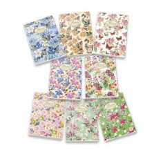 Quaderno a quadretti 42 fogli PIGNA Maxi Nature Flowers A4 4M assortiti 02298854M