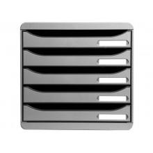 Cassettiera Exacompta grigio chiaro  309740D