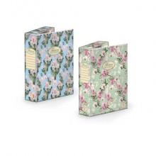 Cartella portaprogetti PIGNA Nature Fowers in cartone con dorso da 7 cm 24x34 cm assortiti - 0089255D7