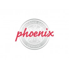 Classificatore ignifugo Phoenix bianco - Ral 9003 4 cassetti da 49lt. con serratura a chiave - FS 2254 K