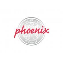 Cassaforte Phoenix bianco - Ral 9003 con serratura a chiave doppia mappa. 42 lt. SS1183 K