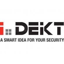 Cassaforte di sicurezza i.DEKT con chiusura elettronica + 2 chiavi d'emergenza nero mm. 430x365x250