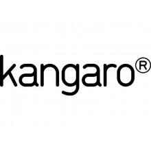 Perforatore a 2 fori Kangaro AION 40 nero foro 6mm