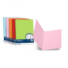 Cartellina semplice FAVINI FOLDER S cartoncino Simplex Luce&Acqua 200 g/m² 25x34cm ghiaccio 12  conf.50 - A50U664