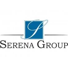 Scala in acciaio Serena Group 46,5 x 48,5 x h. 81,5 cm cromato 2 gradini WR2061GS