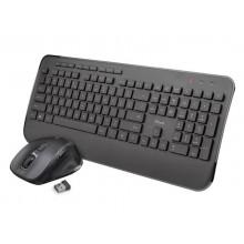 Set tastiera e mouse Trust Mezza  nero - 23396