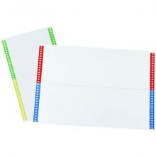 Cartoncini di ricambio BERTESI per cart. sospese armadio 30x22x2 cm Modelli Joker e Cartesio Plus  Conf. 10 pezzi - 033 10
