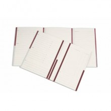 Cartelline a 2 lembi 4Pro A4 in carta schedografica 270 g/m² dorso 3 cm rosso conf. da 20 pezzi - 7015 02