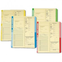 Cartelline a 2 lembi 4Pro A4 in carta di cellulosa 225 g/m² dorso 2 cm verde conf. da 50 pezzi - 4175 03