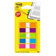 Segnapagina remov. Post-it® Index Mini + dispenser colori assortiti 5 blocchetti da 20 - 683-5CB2-EU