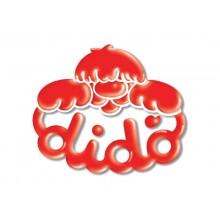 Pasta modellabile DIDO' Arcobaleno assortiti Conf. 12 pezzi - 397900