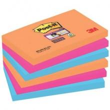 Foglietti riposizionabili Post-it® assortiti conf. 6 blocchetti da 90 ff - 655-6SS-EG