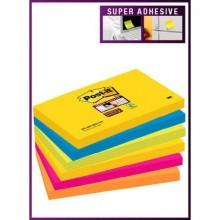Foglietti riposizionabili Post-it® assortiti - conf. 6 blocchetti da 90 ff 655-6SS RIO