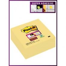 Foglietti riposizionabili Post-it® Cubo Super Sticky Notes 76x76 mm 270 ff Giallo Canary™  2028-SSCY-EU