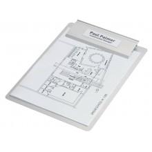 Portaetichette adesivi DURABLE POCKETFIX® 3,2x10,4 cm trasparente conf. 10 pezzi - 807319
