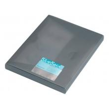 Portabiglietti da visita adesivi DURABLE POCKETFIX® 5,7x9 cm trasparente conf. 10 pezzi - 809319