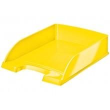 Vaschette portacorrispondenza Leitz WOW in polistirolo A4 giallo metallizzato 52263016 (Conf.5)