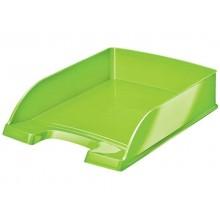 Vaschette portacorrispondenza Leitz WOW in polistirolo A4 verde lime metallizzato - 52263054 (Conf.5)