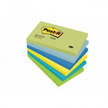 Foglietti riposizionabili Post-it® Notes Dream 76x127 mm assortiti conf. 6 bloc. da 100 ff - 655-MTDR