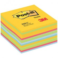 Foglietti riposizionabili colorati Post-it® Notes Cubo Neon assortiti 2030 U