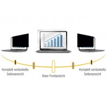 """Filtri privacy Fellowes per monitor 14"""" W.S.  nero 4812001"""