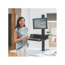 Postazione di lavoro Fellowes Lotus™ VE Sit-Stand – Singola nero 8080101