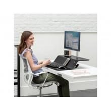 Postazione di lavoro Fellowes Lotus™ RT Sit-Stand - singolo nero 8081501