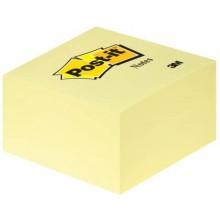 Foglietti riposizionabili Post-it® Notes Cubo 76x76 mm 450 ff Giallo Canary™ 636-B
