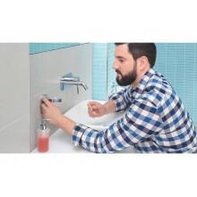 Dispenser sapone liquido tesa Smooz rimovibile e riutilizzabile 40323-00000-00