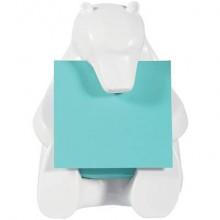 Dispenser foglietti adesivi Post-it® Z-Notes Orso conf. dispenser + 1 ricarica - BEAR-330