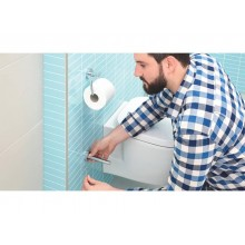 Portarotolo di scorta WC tesa Smooz rimovibile e riposizionabile 40328-00000-00
