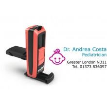 Timbri autoinchiostranti tascabili Trodat Pocket Printy 9511 38x14 mm nero/rosso - 148739