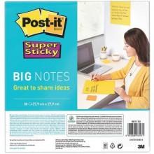 Foglietti riposizionabili Post-it® Super Sticky Big Notes giallo BN11-EU