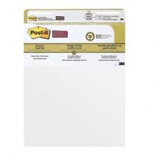 Blocco di fogli da parete Post-it® Super Sticky 63,5x 77,5 cm bianco Conf.2 pezzi - 559RP