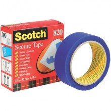 Nastro adesivo antieffrazione Scotch® 35 mm x 33 m blu 820